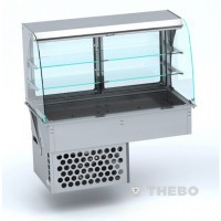 Drop-in Vitrine Combisteel 7495.0215