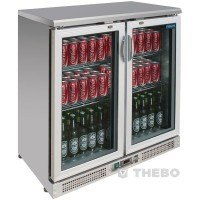 Backbar Koelkast Polar CE206 RVS